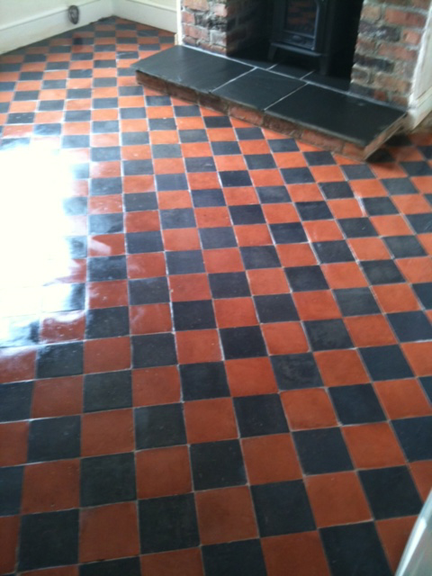 Quarry Tiles Floor Cleaning Stockport And North West Sk Floors