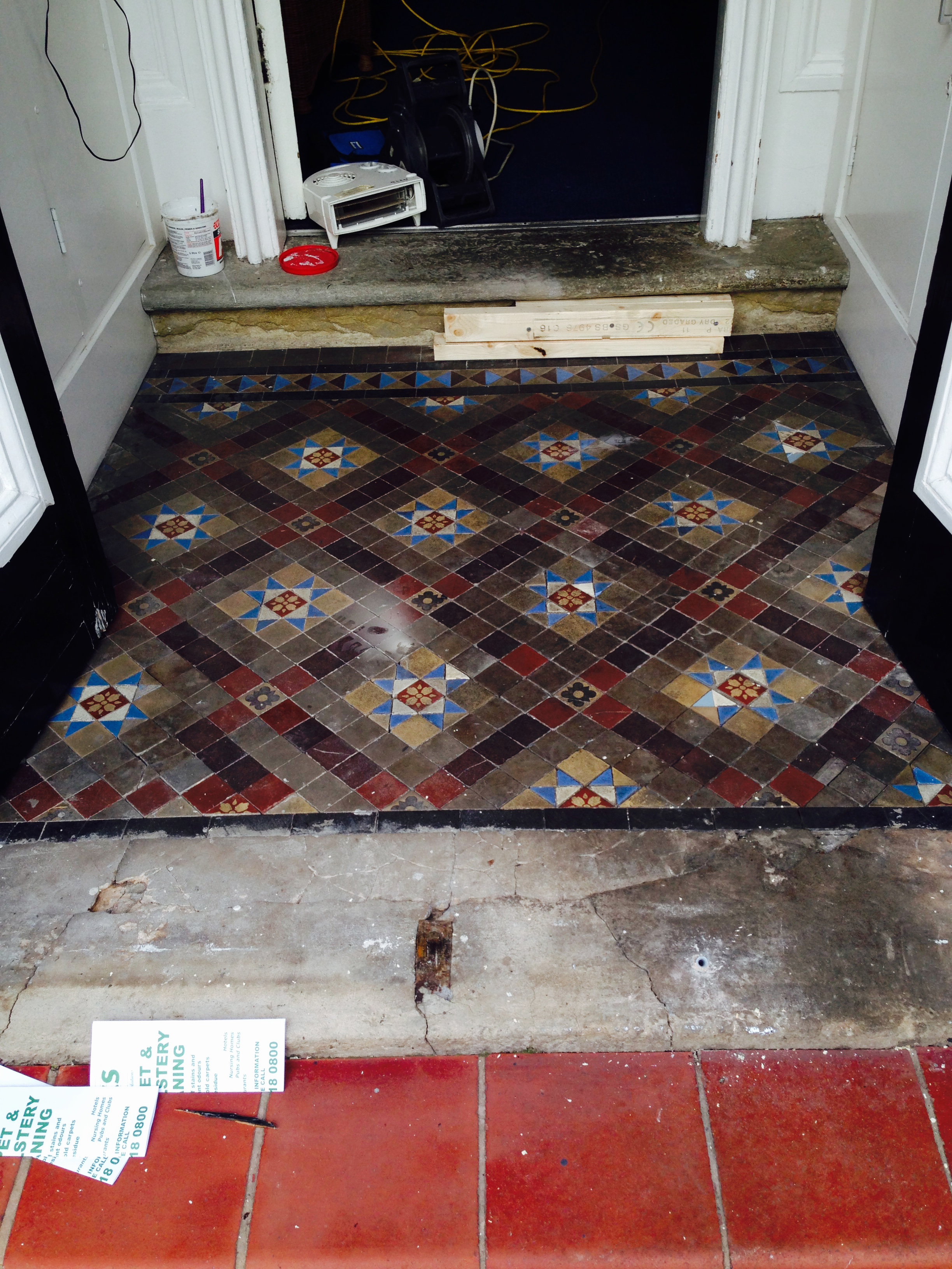 Victorian Tiles Floor Cleaning Stockport And North West Sk Floors