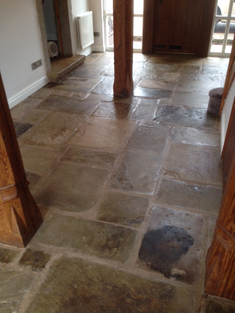 Sandstone Floor Cleaning Stockport And North West Sk