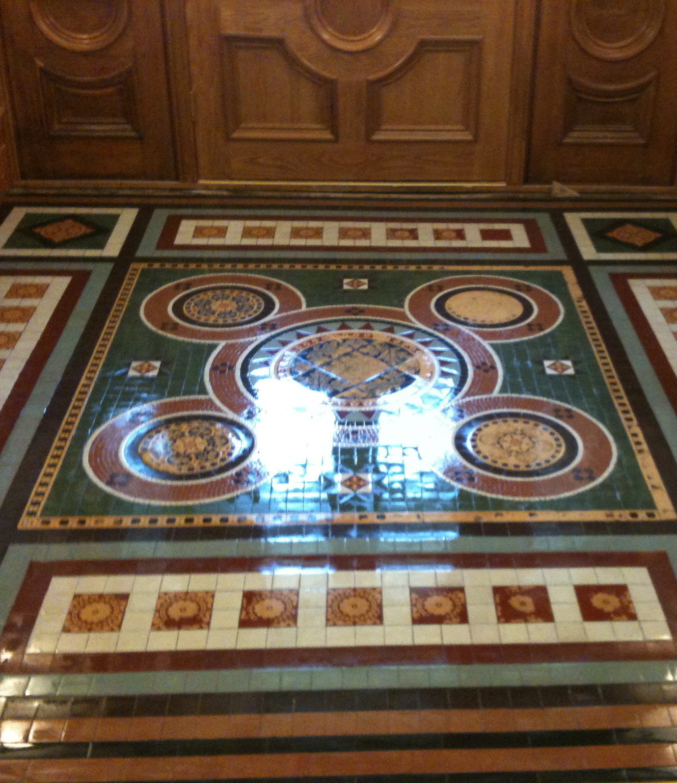 Victorian Tiles Commercial Floor Cleaning Services Stockport And