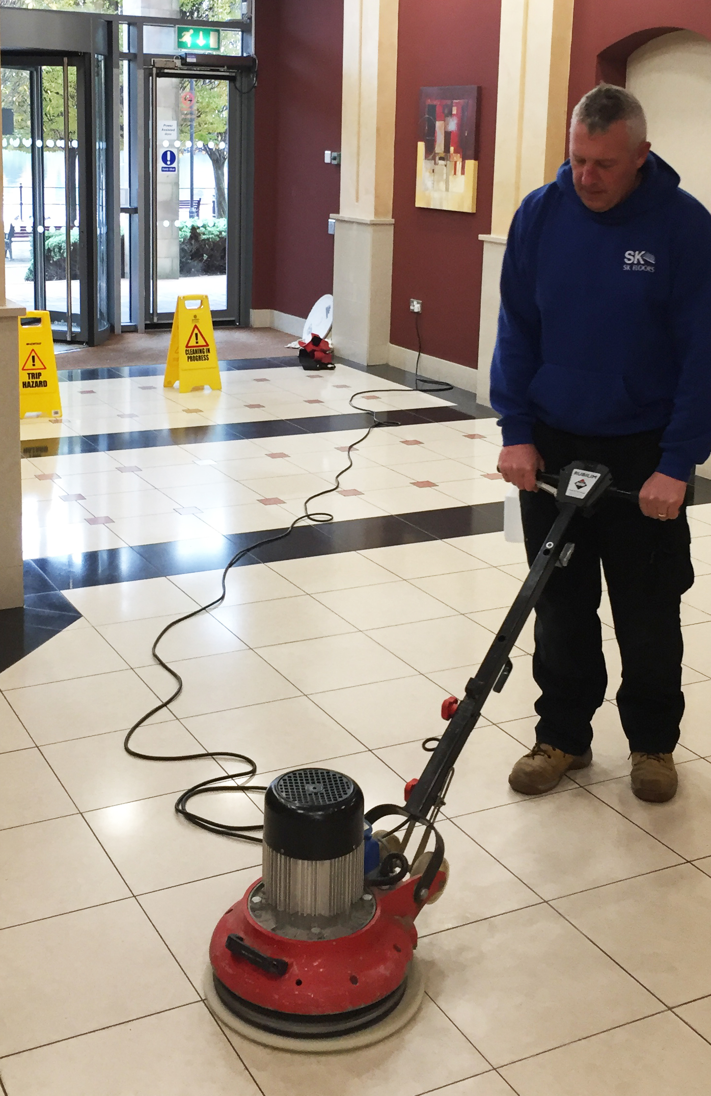 Marble Floor Cleaning Polishing Sealing Weybridge Surrey: Marble Floor Commercial Cleaning Services Stockport